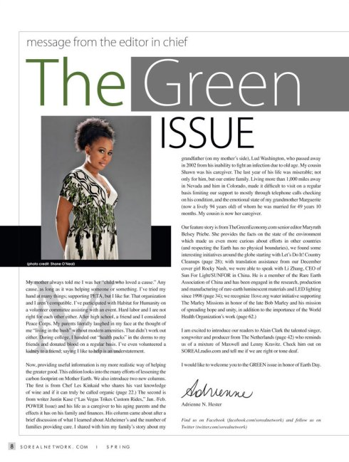 Adrienne Hester Editor in Chief