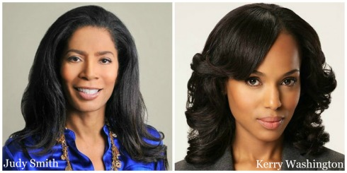 Judy Smith and Kerry Washington